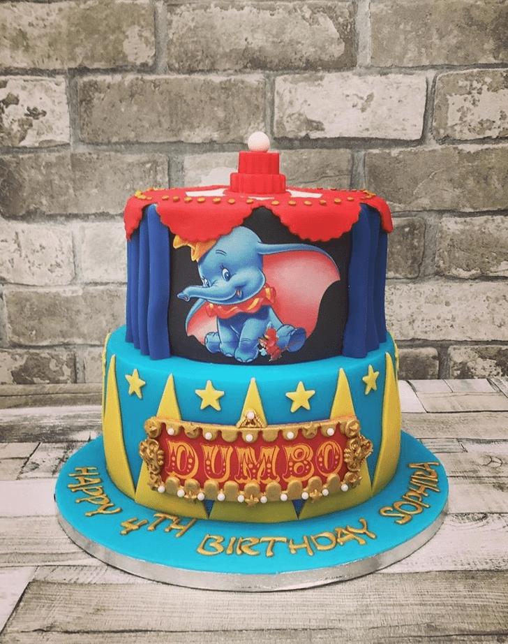 Graceful Dumbo Cake