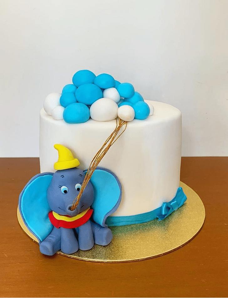 Lovely Dumbo Cake Design