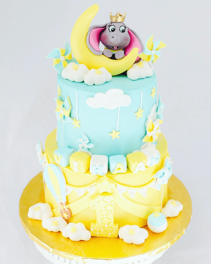 Magnetic Dumbo Cake