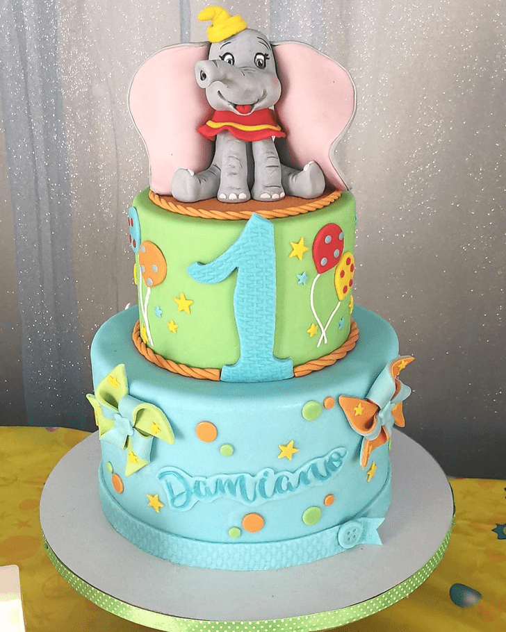 Magnificent Dumbo Cake