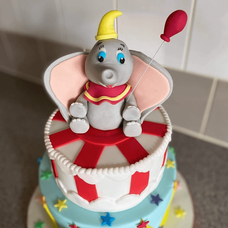 Mesmeric Dumbo Cake