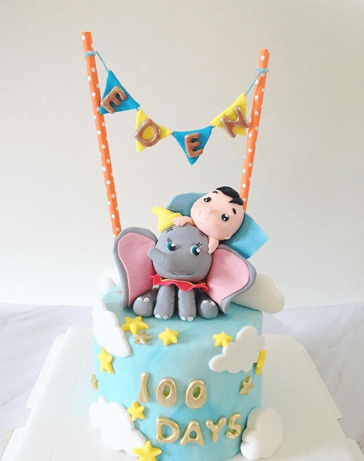 Pleasing Dumbo Cake