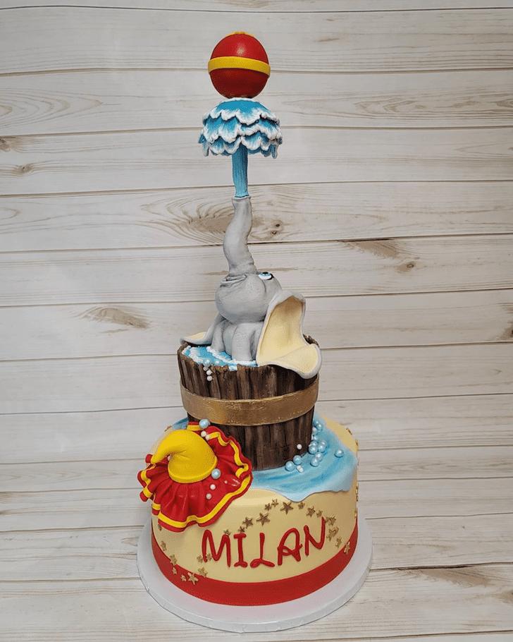 Pretty Dumbo Cake
