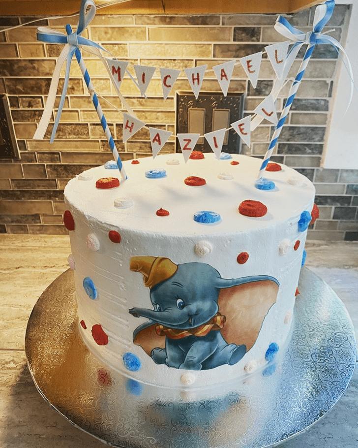 Radiant Dumbo Cake
