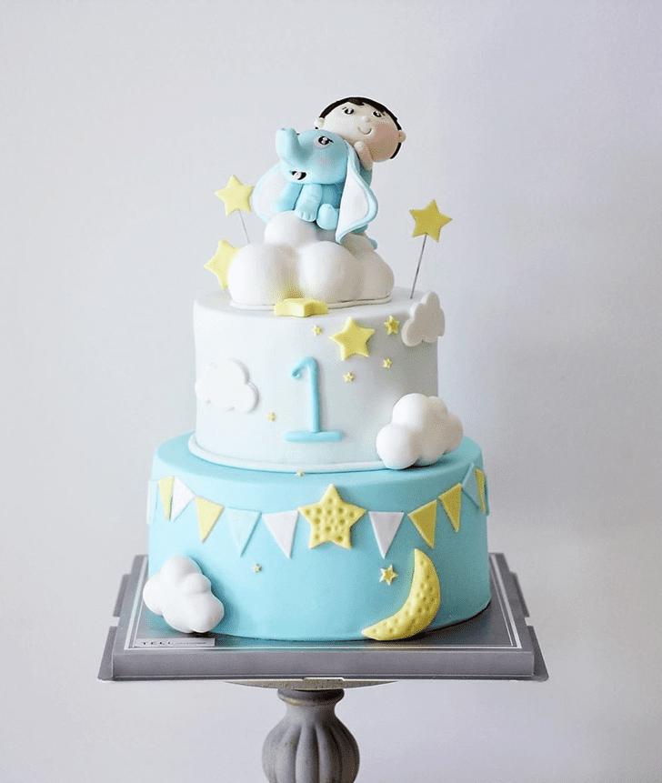 Resplendent Dumbo Cake