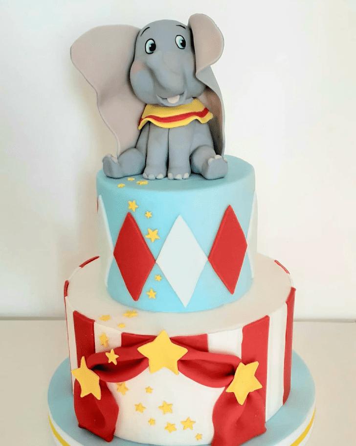 Shapely Dumbo Cake