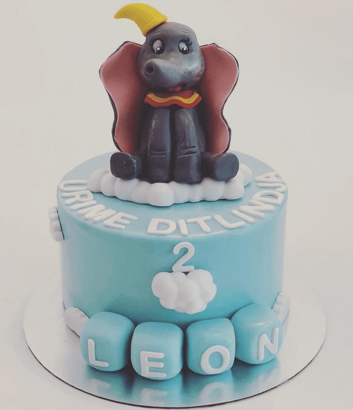 Slightly Dumbo Cake