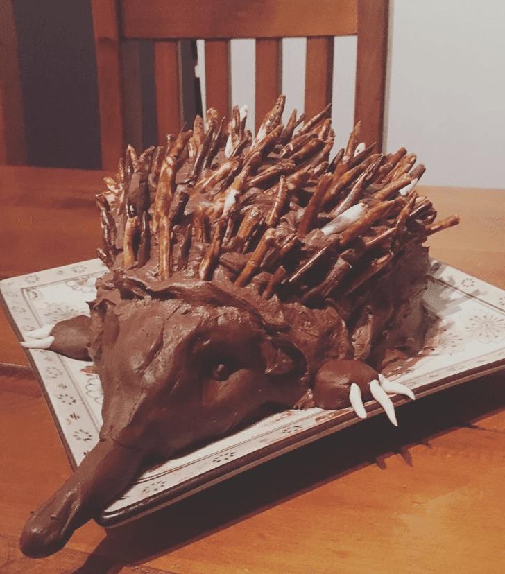Captivating Echidna Cake