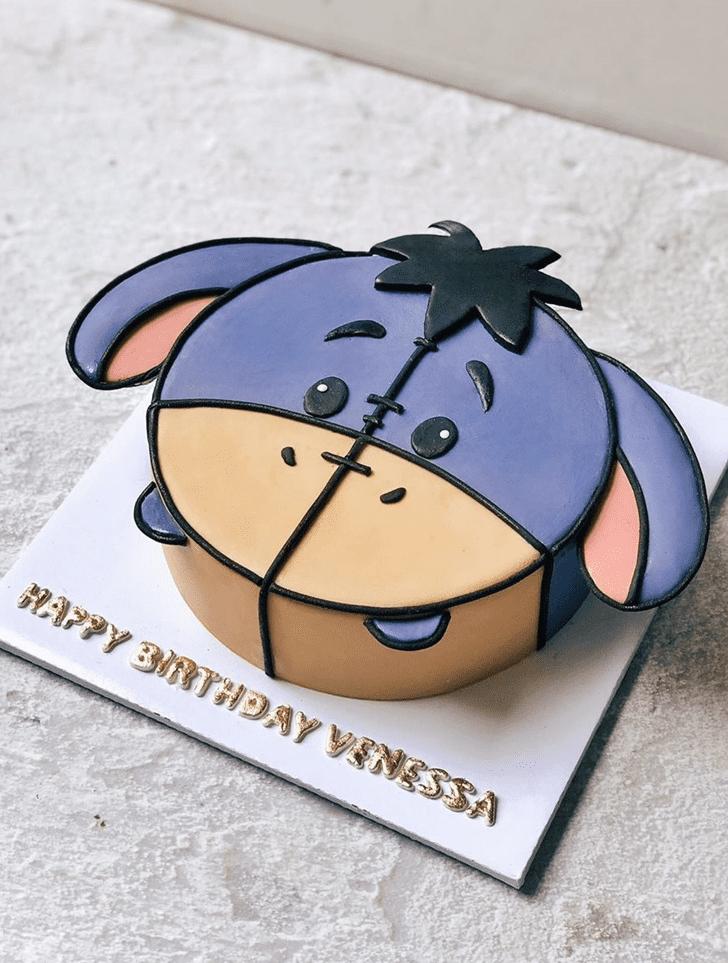 Bewitching Eeyore Cake