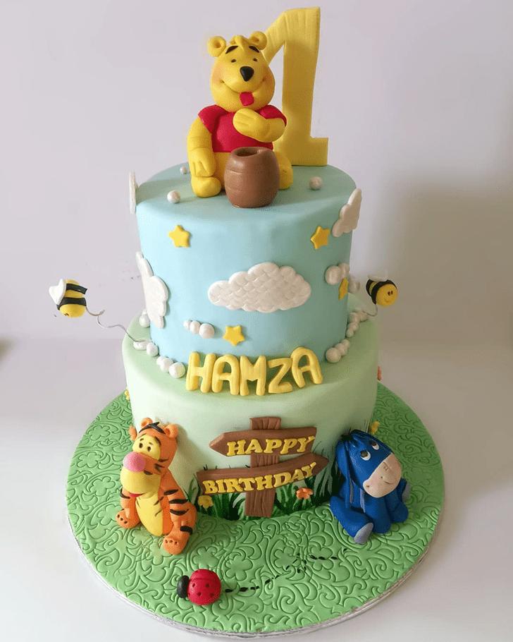 Dazzling Eeyore Cake