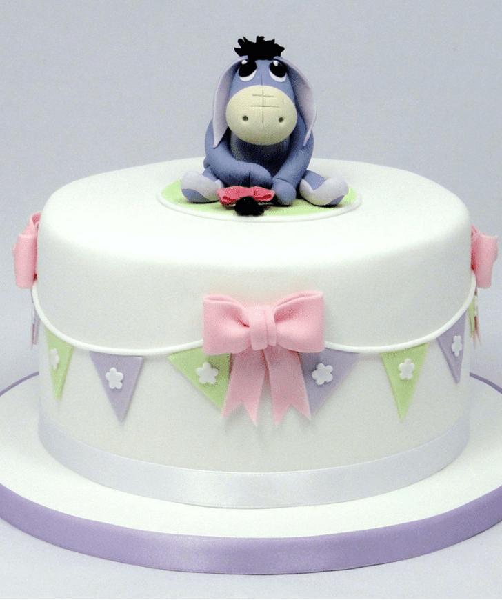 Delicate Eeyore Cake