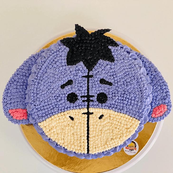 Delightful Eeyore Cake