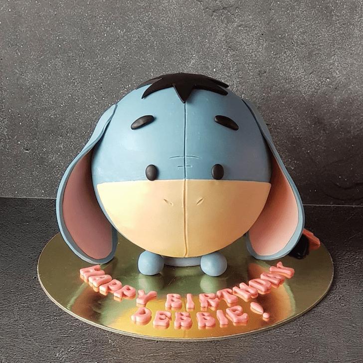 Excellent Eeyore Cake