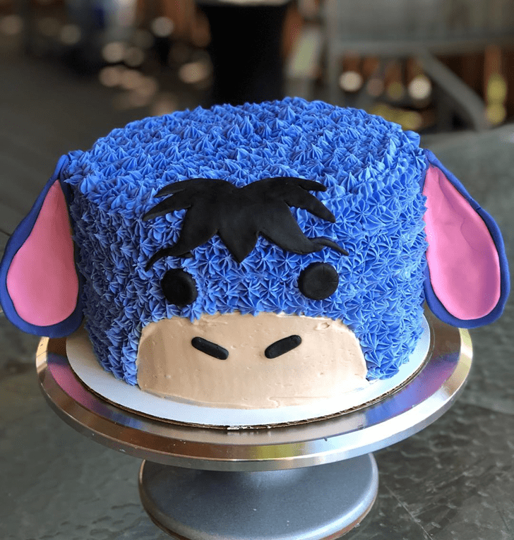 Fair Eeyore Cake