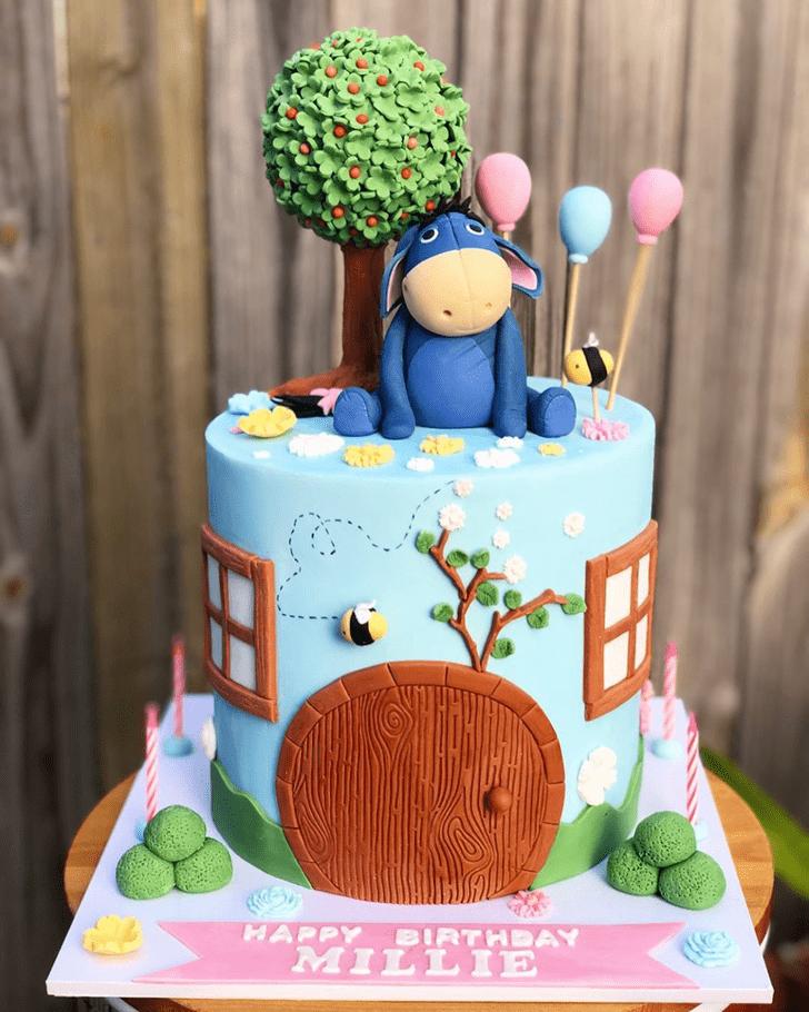 Lovely Eeyore Cake Design