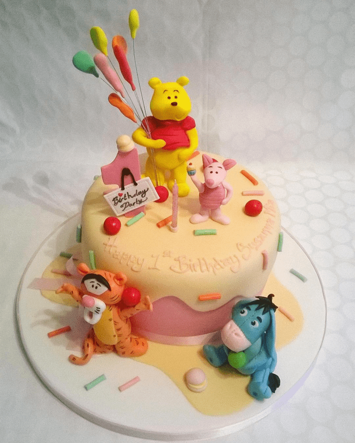 Radiant Eeyore Cake