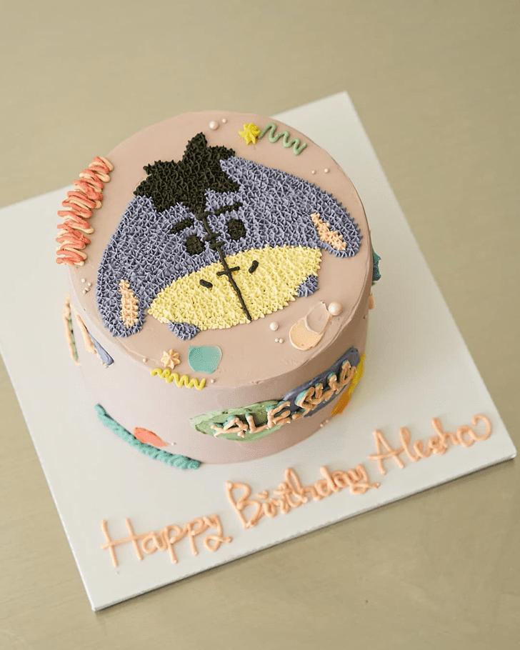 Superb Eeyore Cake