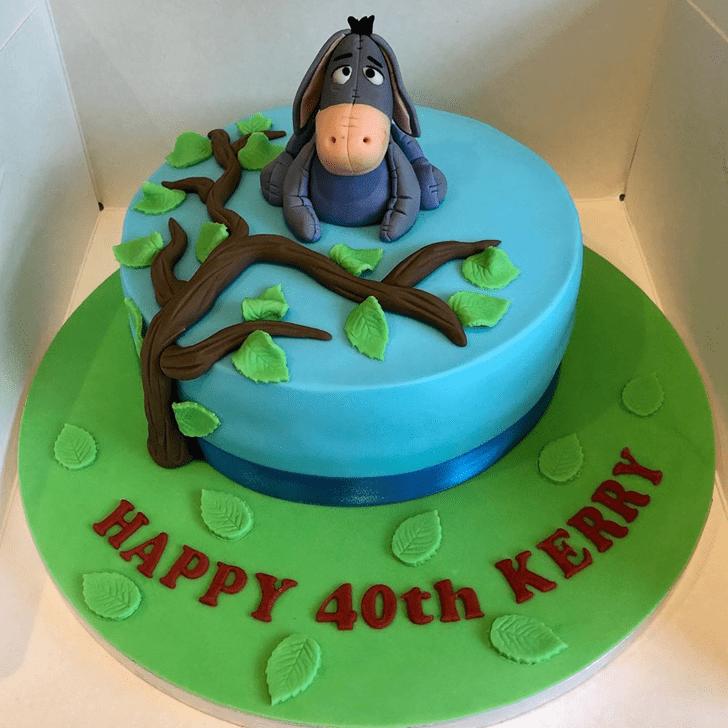 Wonderful Eeyore Cake Design