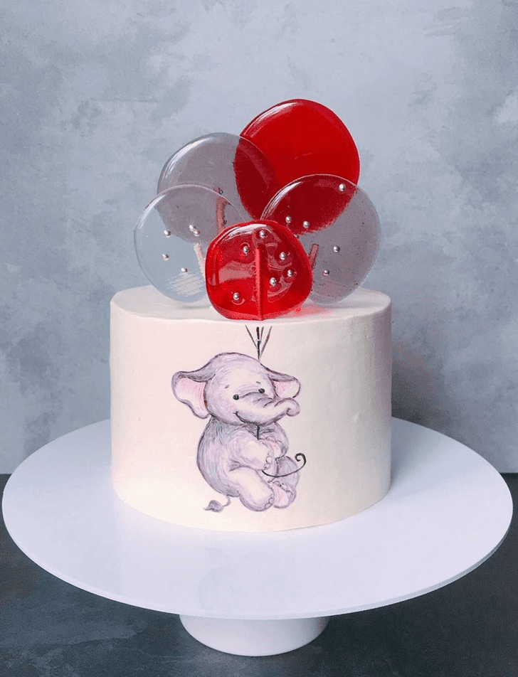 Admirable Elephant Cake Design