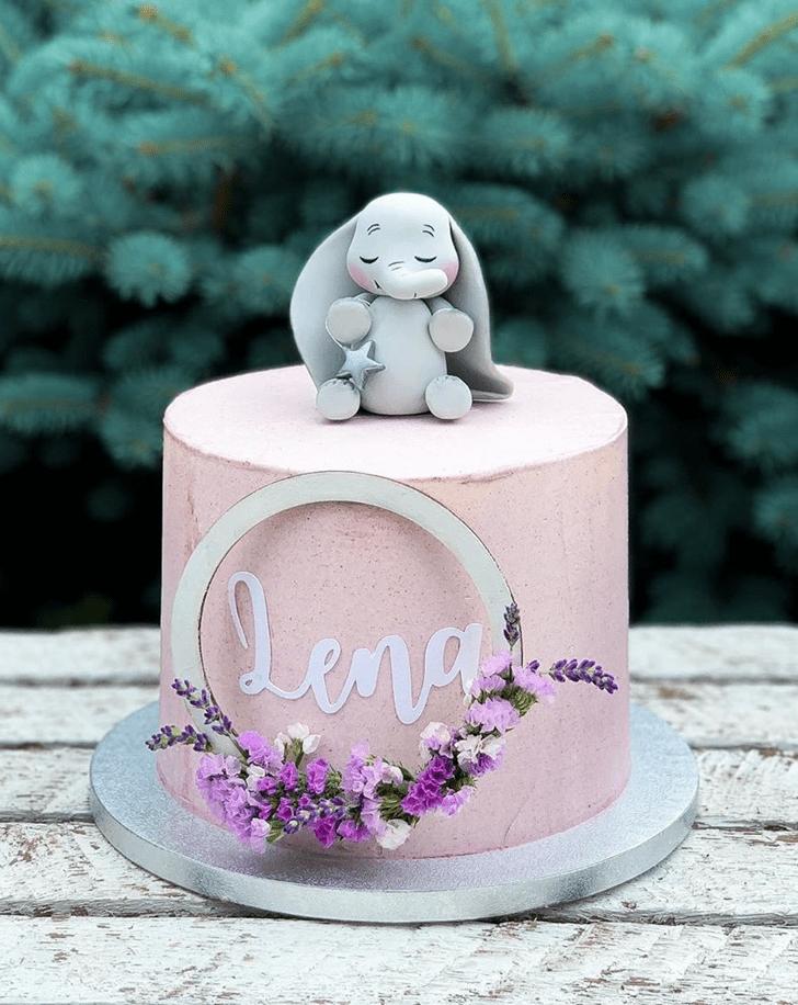 Bewitching Elephant Cake