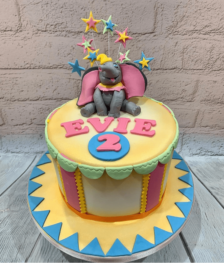 Classy Elephant Cake