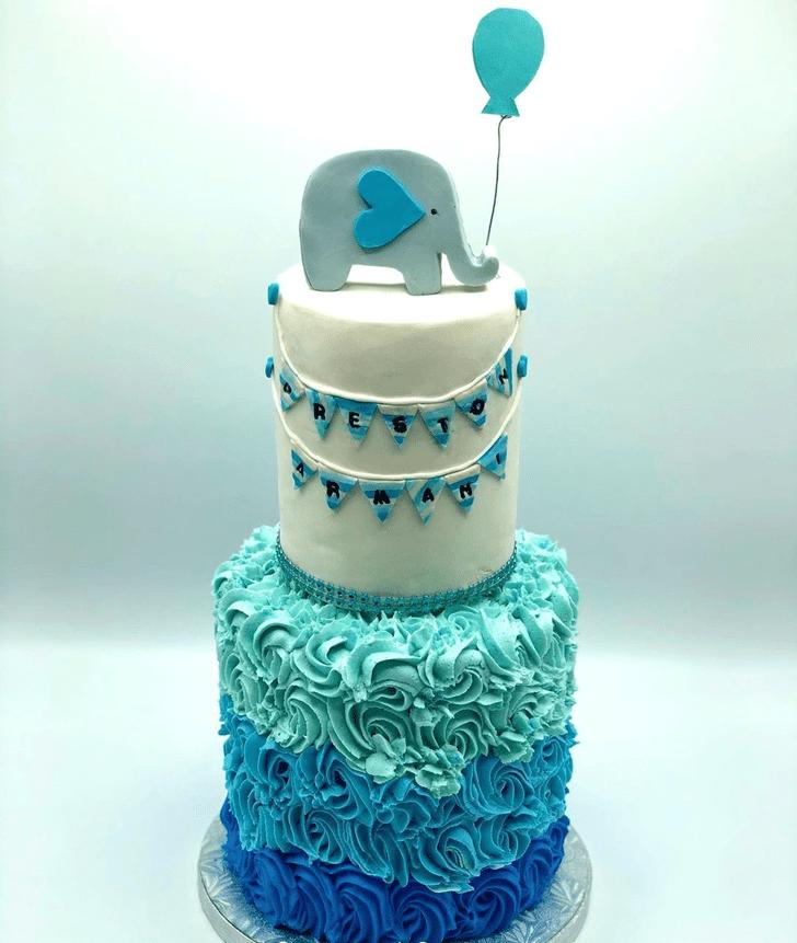 Dazzling Elephant Cake