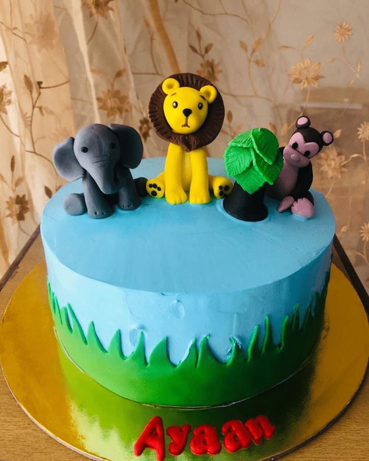 Divine Elephant Cake
