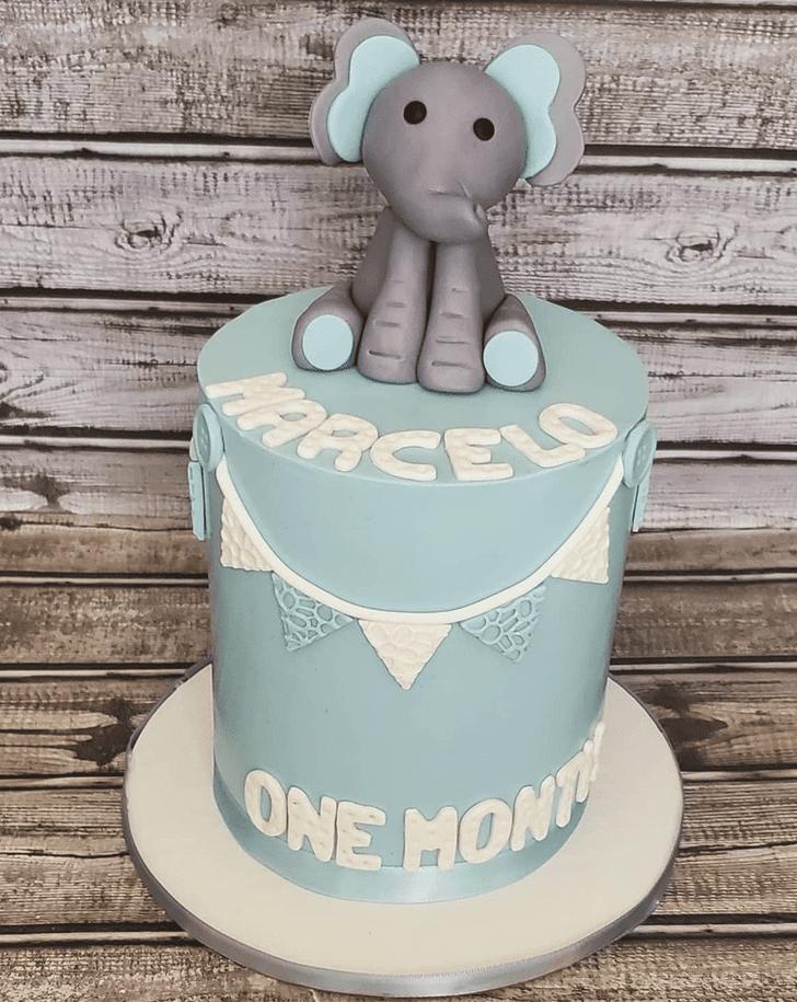 Enthralling Elephant Cake