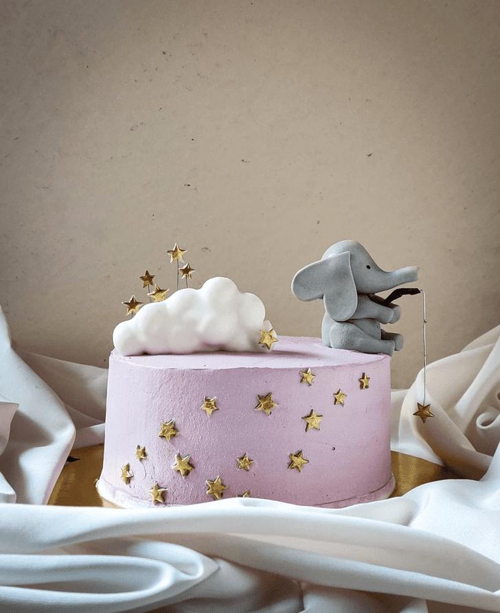 Exquisite Elephant Cake