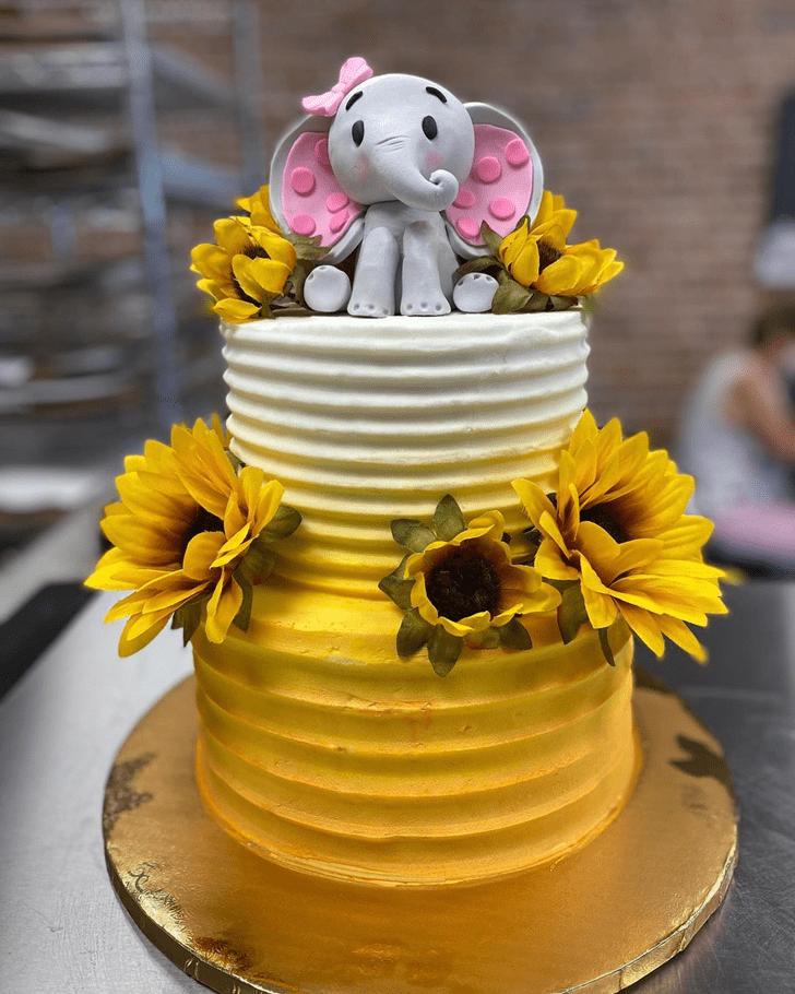 Fascinating Elephant Cake