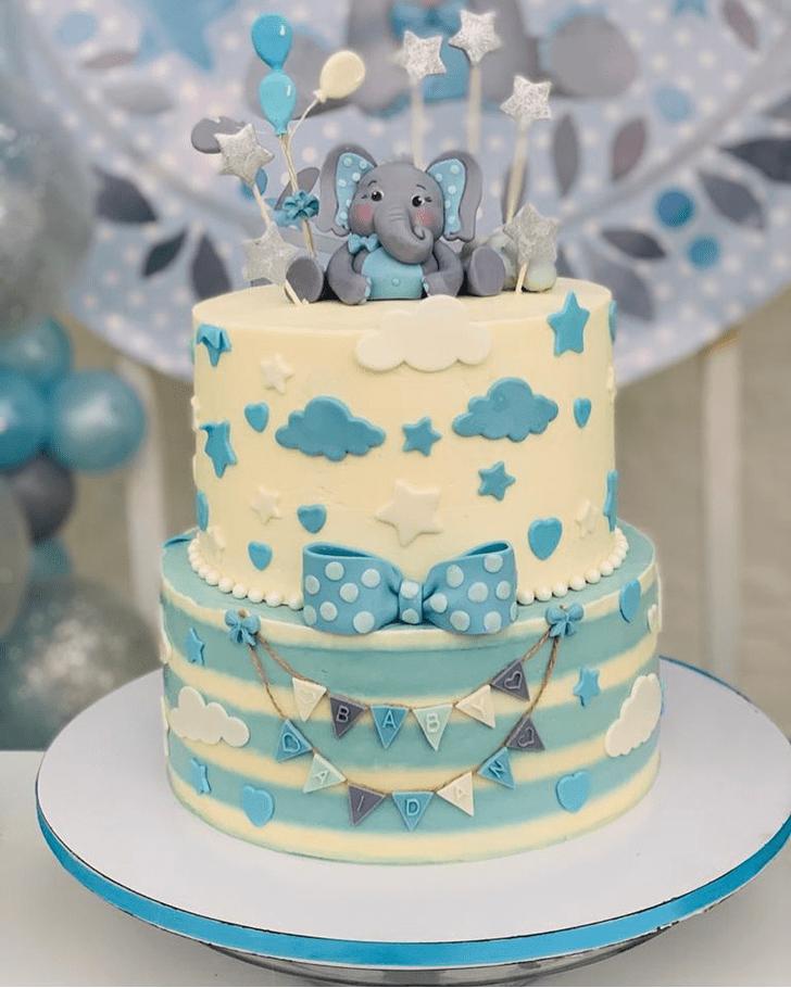 Fetching Elephant Cake