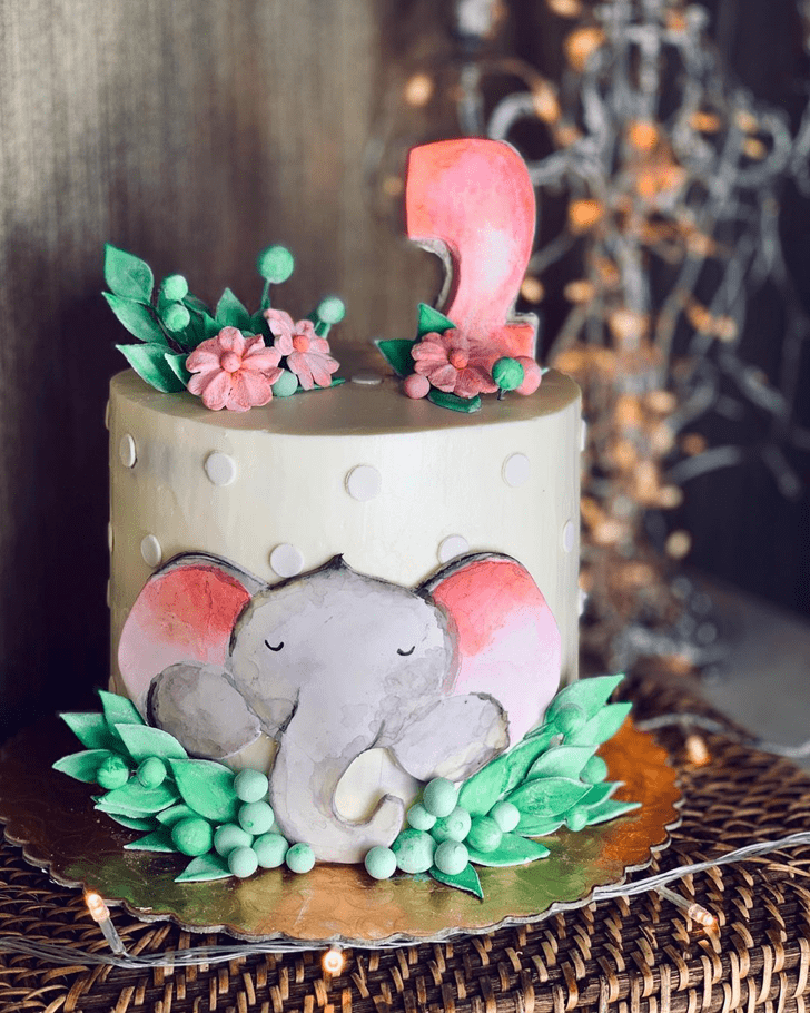 Fine Elephant Cake