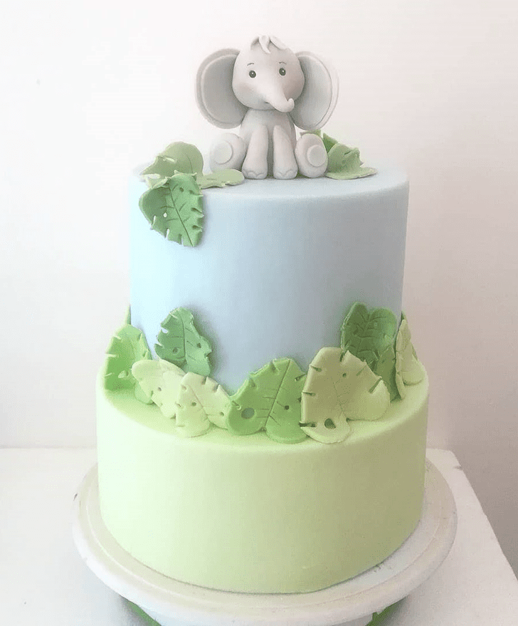 Graceful Elephant Cake