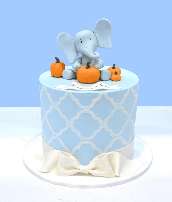 Handsome Elephant Cake