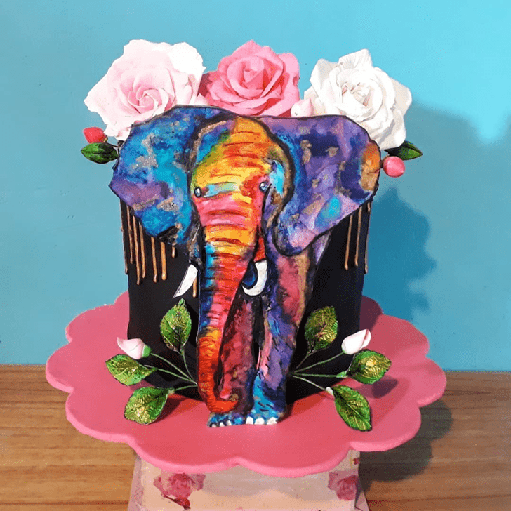 Marvelous Elephant Cake