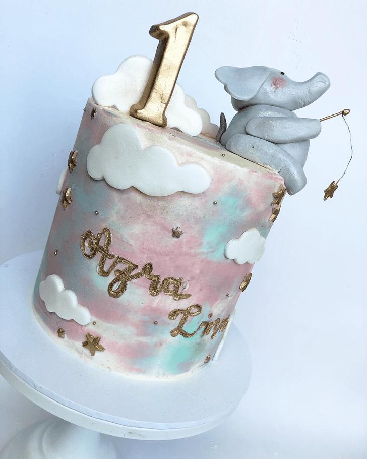 Mesmeric Elephant Cake