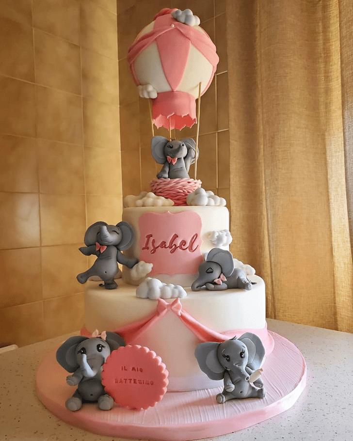 Pleasing Elephant Cake