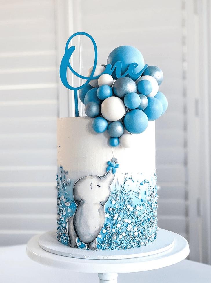 Ravishing Elephant Cake