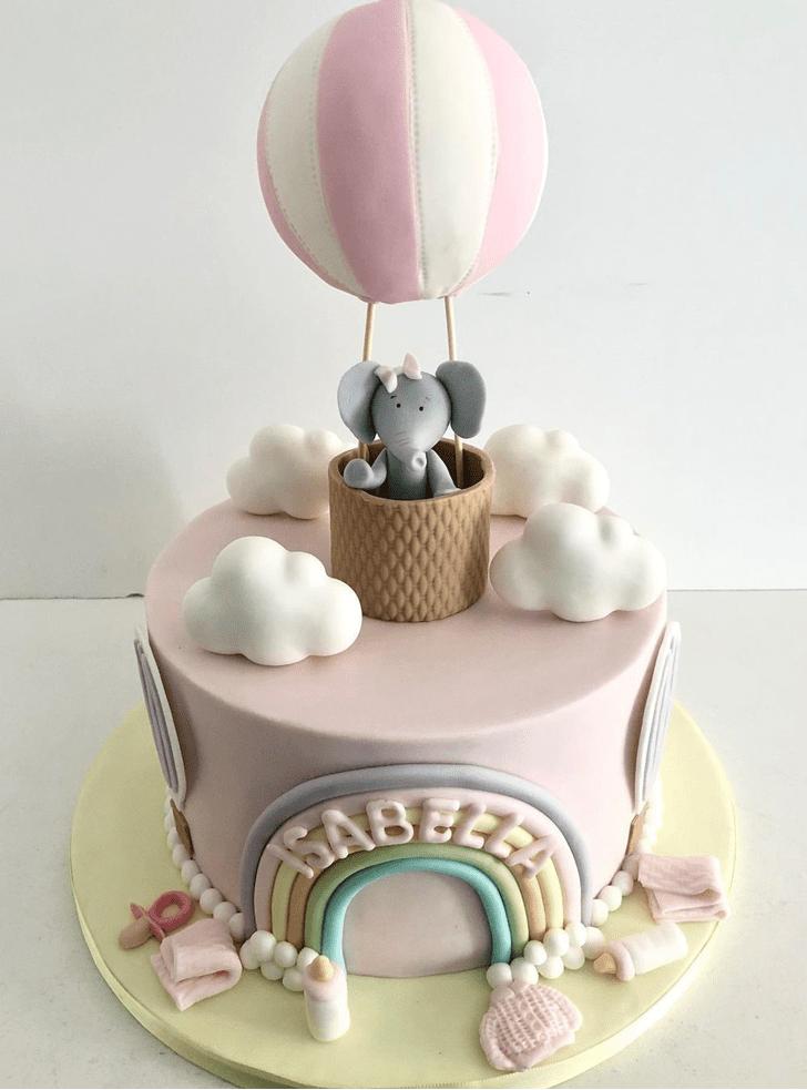 Refined Elephant Cake