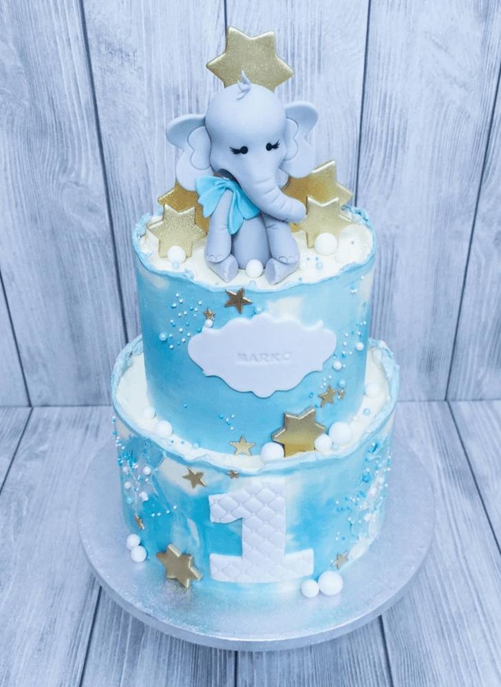 Stunning Elephant Cake