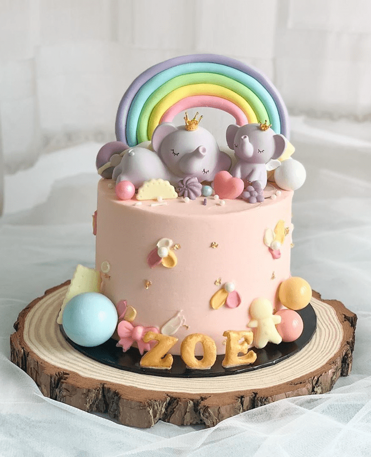Superb Elephant Cake