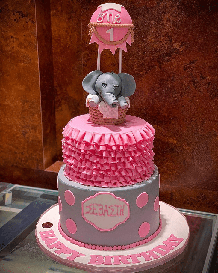 Wonderful Elephant Cake Design
