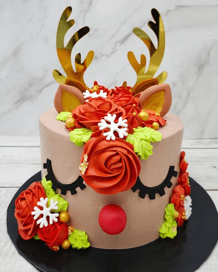 Angelic Elk Cake