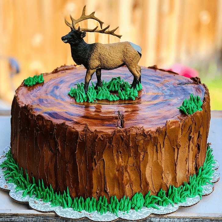 Beauteous Elk Cake