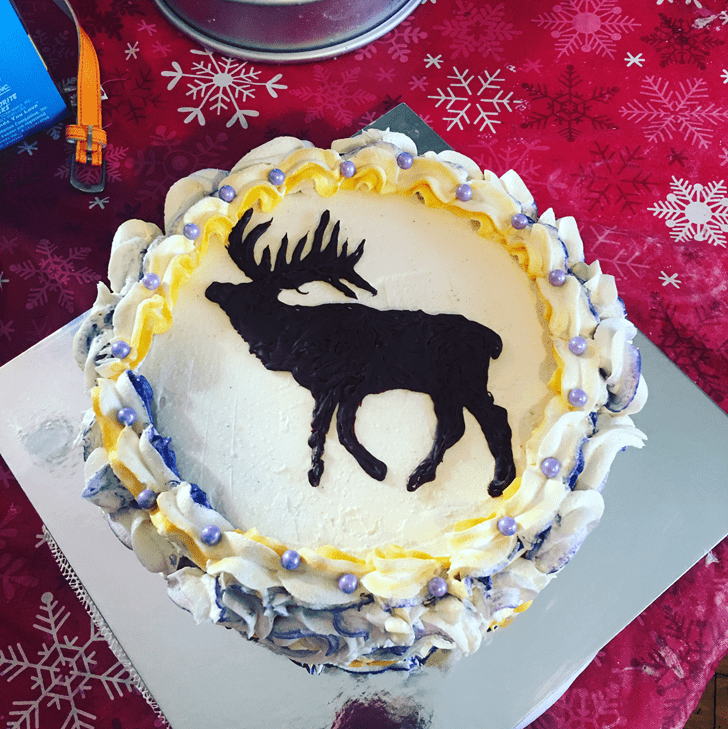 Bewitching Elk Cake