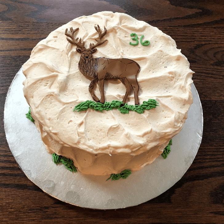 Classy Elk Cake