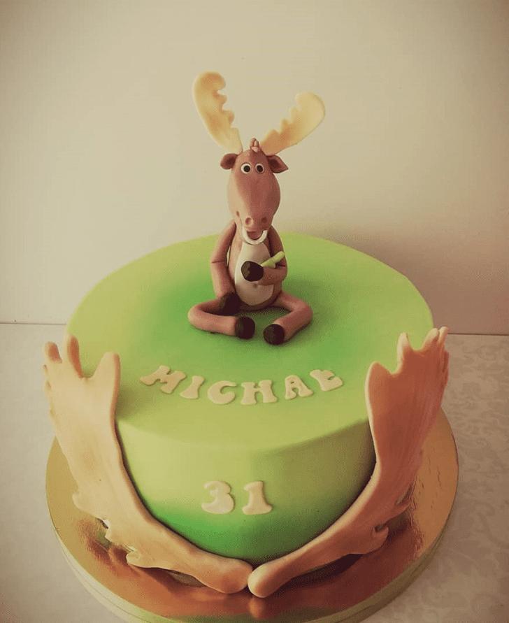 Dazzling Elk Cake