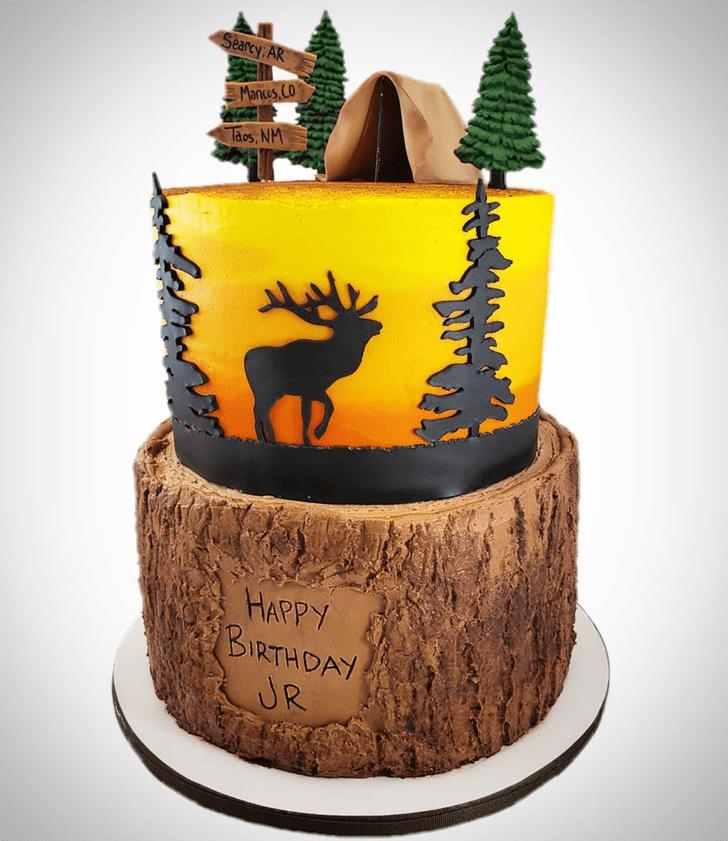 Elegant Elk Cake