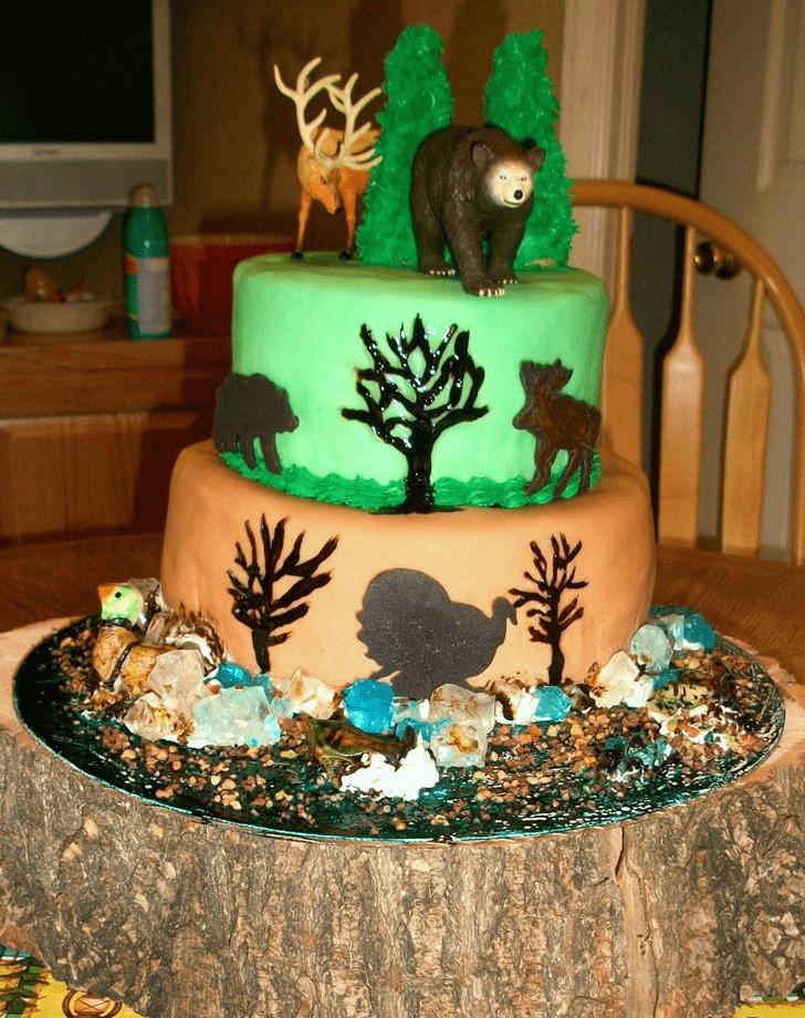 Enthralling Elk Cake