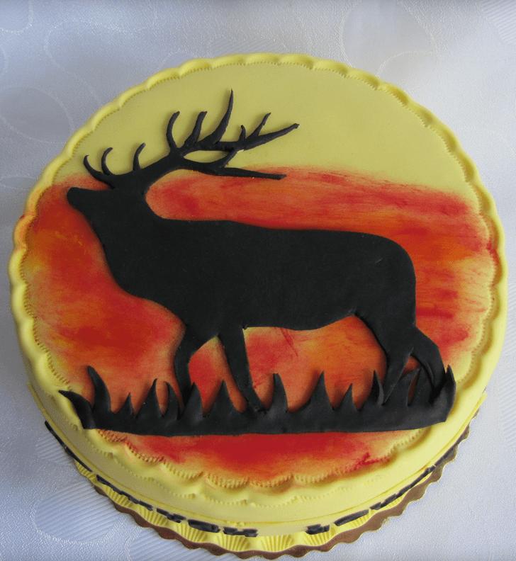 Enticing Elk Cake